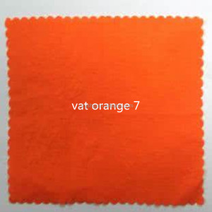 safty vat orange 7 for deep printing in cotton fabric
