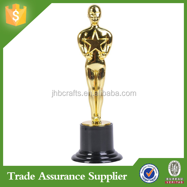 China supplier wholesale oscar trophy