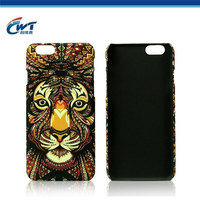 Water printing PC cell phone replacement parts for iphone 5 back cover housing