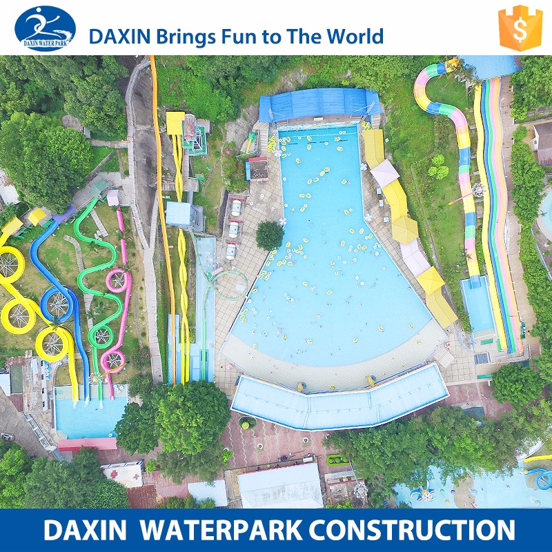DAXIN Summer Holiday Water Park Design