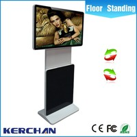 42inch rotate shopping interior porta usb touch screen display lcd jogador
