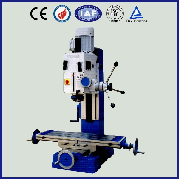 Vertical Drilling And Milling Machine , ZX45 Milling Machine