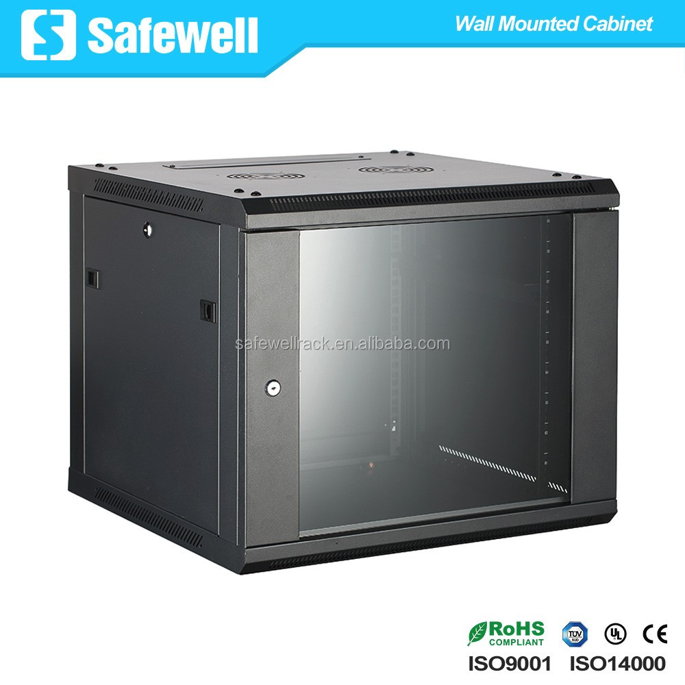 Safewell 19 inch 450 Depth 9U Enclosure Wall Mounted Rack