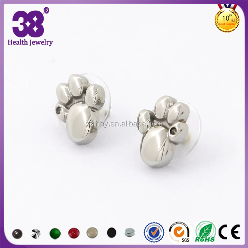 2016 New Hot Stainless Steel design earring body jewelry