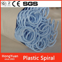 chinese environmental stationery spiral wire, plastic binder ring, plastic binding coils