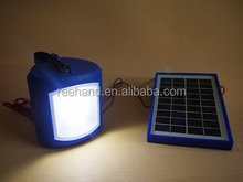 Emergency Lighting solar led Solar Lantern With Cellphone Charger