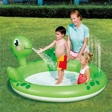 Inflatable water splash shark tortoise whale sprinkler mat spray pool toy for garden