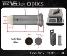 Vector Optics Supply AR15 CollapsibleTungsten Buffer Stock Tube Kit 308 3.8oz Recoil Buffer Assembly