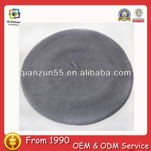 New Fashion many color new style winter women grey wool beret hat