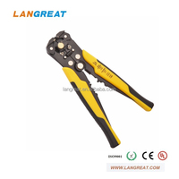stripping 0.2-6.0mm2 crimping 24-10AWG hand function wire stripper crimper