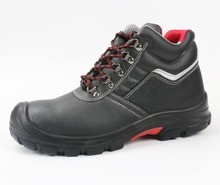 Genuine leather gasoline industry functional safety shoes for mens