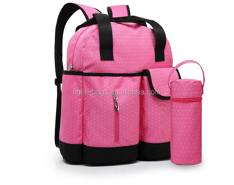 New Arrival Polyester Handbag Mommy Holding Baby Bag
