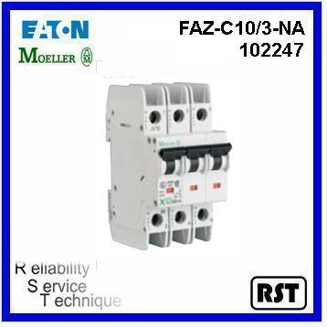 FAZ-C10/3-NA 3P 10A 102247 MINIATURE CIRCUIT BREAKER