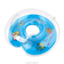 Inflatable baby pool neck float/swimming neck ring with two handle