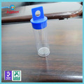 Clear round plastic cylinder tube packaging