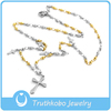 3mm Religious Rosary Beads And Cross