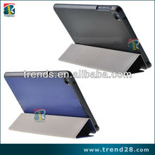 roll up stand leather cover for ipad mini