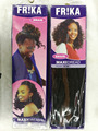 "crochet braids FR!KA MAXI DRED 24"" 100gram ,Black and brown ,"