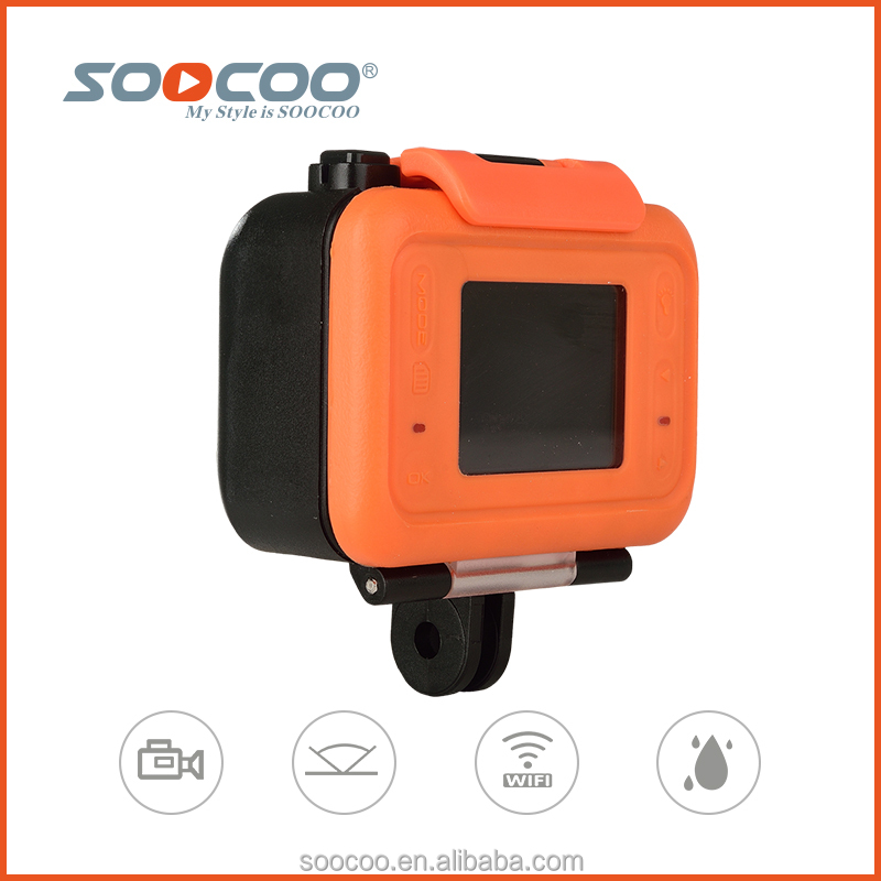 SOOCOO S70 WIFI Waterproof Sports Cameras with 2K Full HD 170 Degree Wide-angle Lens(add 1*32G card )