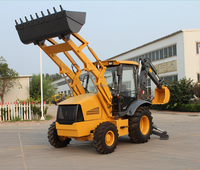 Best sale ! XNWZ74180 high quality &cheap mini-hydraulic and mechanical wheel loader,backhoe loader ,manufacturer