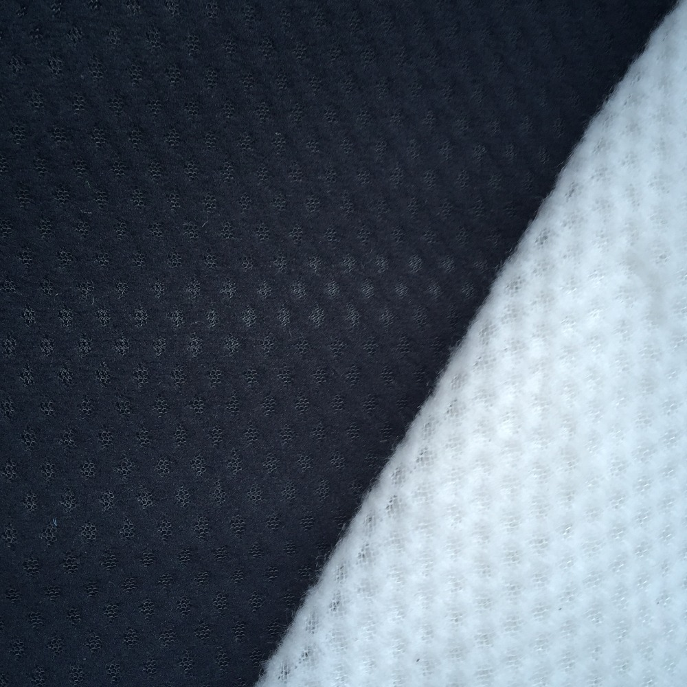 New design 100 polyester jacquard mesh fabric for shoes