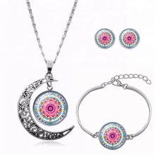 Fashion Statement Necklace mandala spend time jewelry necklace OM Yoga