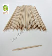 disposable marshmallow roasting sticks bamboo barbecue skewer