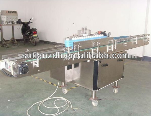 MTGL-100 automatic cold glue labeling machine/label machine/wet glue labeling machine