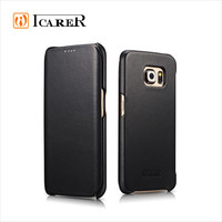 ICARER Custom Wallet Case for Samsung Galaxy S6 Edge Chinese Manufacturers