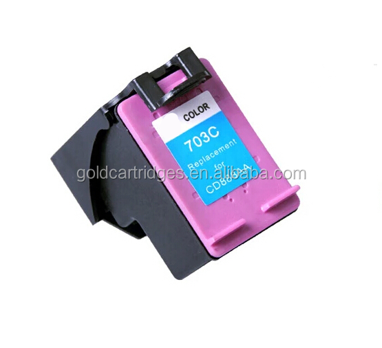 tri-color Ink Cartridge CD887AA 9ml For HP 703