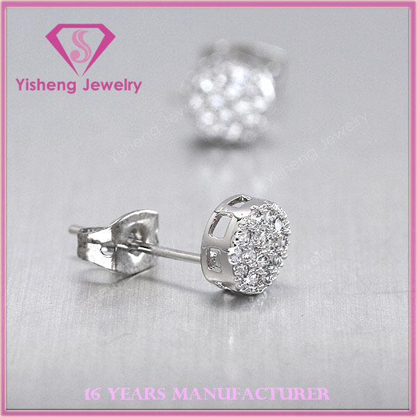 New Design 925 Sterling Silver jewelry earring for darling