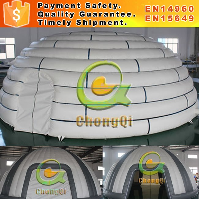 High quality large inflatable tent for outdoor inflatable cube tent event