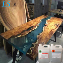 Transparent hard epoxy resin two components ab resin wood benches <strong>adhesive</strong>