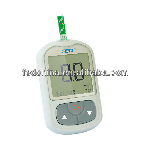 FED Brand Diabetic Hospital Blood Test Machine with Accurate Test Results