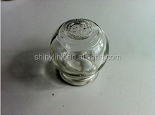 Cupping jar with glass material