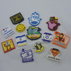 Israel holiday promotion gifts pvc fridge magnets