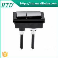 HTD-C2425B Western washdown ceramic toilet top push button flush