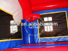 2014 fashion Race Car home use inflatable bouncer