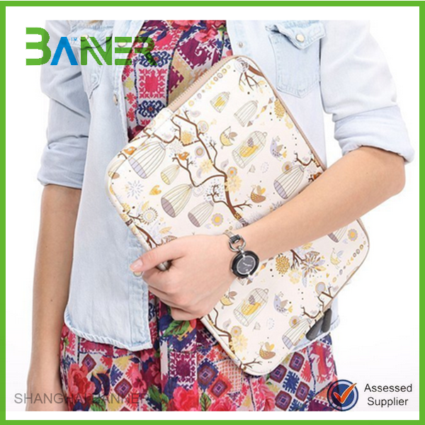 Top quality Promotion sublimation printing Mini computer sleeve Neoprene laptop bag