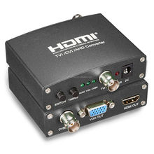 Voxlink good quality HD 1080p AHD/TVI/CVI to HDMI/VGA/CVBS converter adapter EU/US/UK/AU plug