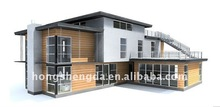 Galvanized steel frame mobile home