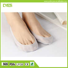 High quality good price silicon no show gel socks