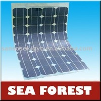 Mono or Poly Crystallline 175W Flexible solar panel