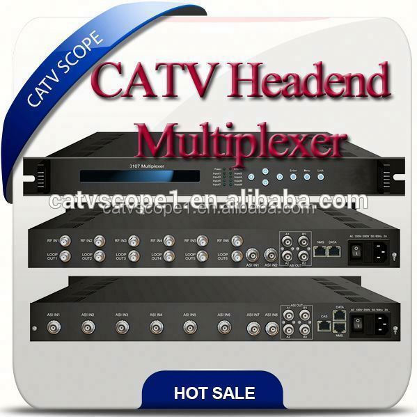 CATV Digital headend equipment multiplexer CSP-3107