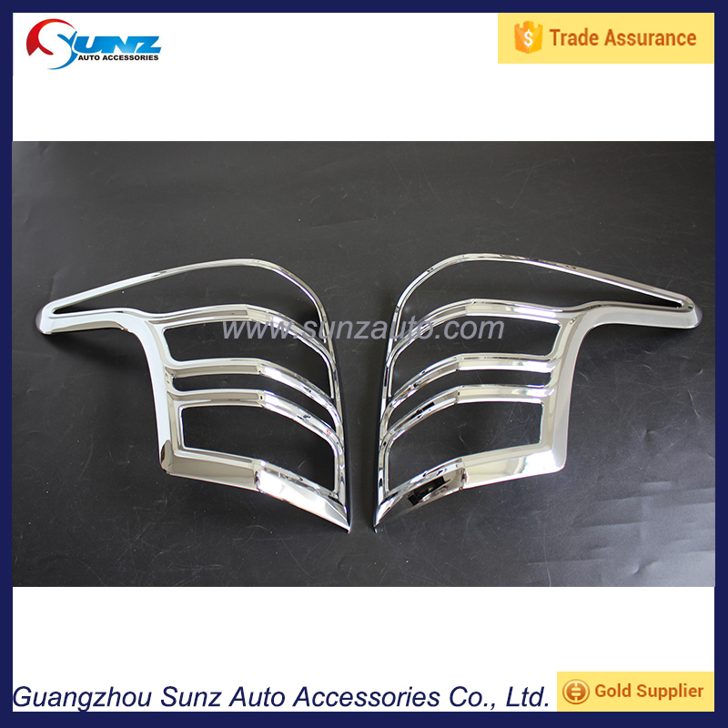 ABS chrome Mitsubishi <strong>L200</strong> Triton accessories Rear lamp cover trim fit 2015 car styling accessory plate tail <strong>light</strong> covers parts