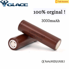Brown lg battery 18650 hg2 35amps 3000mah LG HG2 18650 35A rechargeable battery