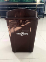 Euro-Market green top dustbin cookies plastic container recycle bin color code