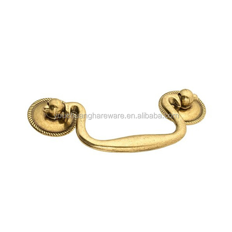 Golden Manor House Bail Kitchen Drawer Cabinet Pull Handle