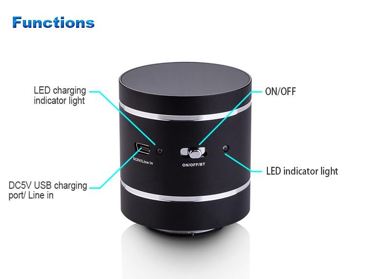 2016 true stereo bluetooth wall outlet speaker twin bluetooth speaker