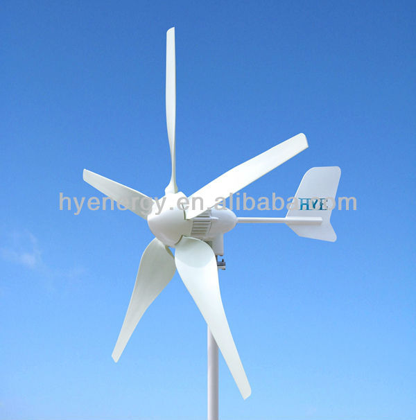 HYE 400W DC12/24V 5 blades maglev wind turbine generator wind power China wind turbine manufacturer